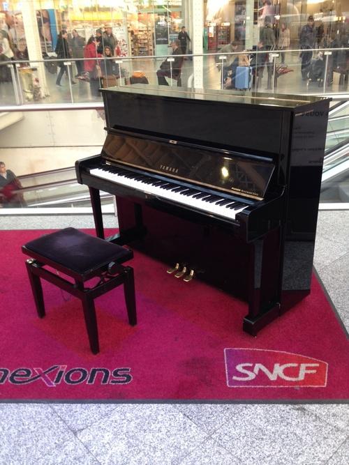 Le piano SNCF...
