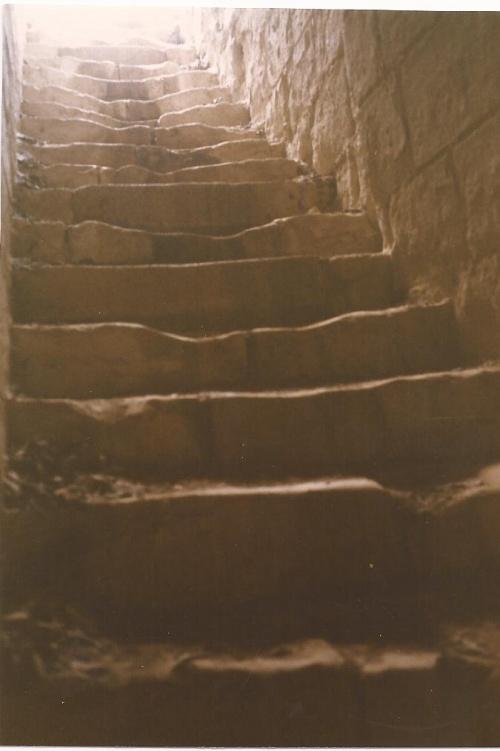 Un vieil escalier
