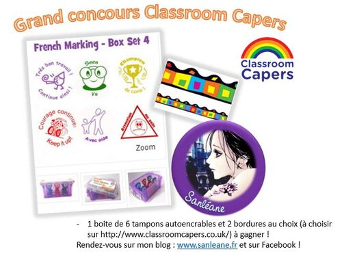 Grand concours Classrrom Capers