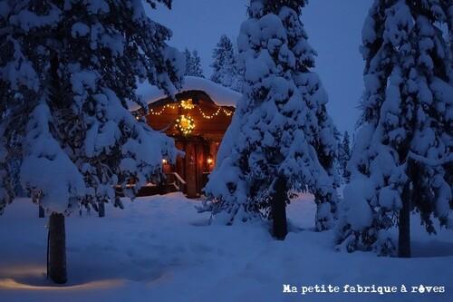 Voyage Laponie pays Père Noël vivatours