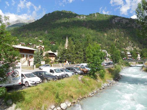 Dans les hautes Alpes.
