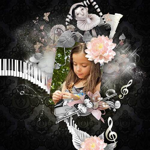 Kit Enchanted melody de Kittyscrap