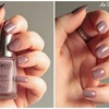 Rose taupe - 443 - collection Satin nail lacquer - KIKO