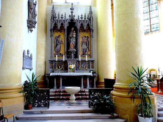 Metz l'église Saint-Clément 15 Marc de Metz 01 11 2012
