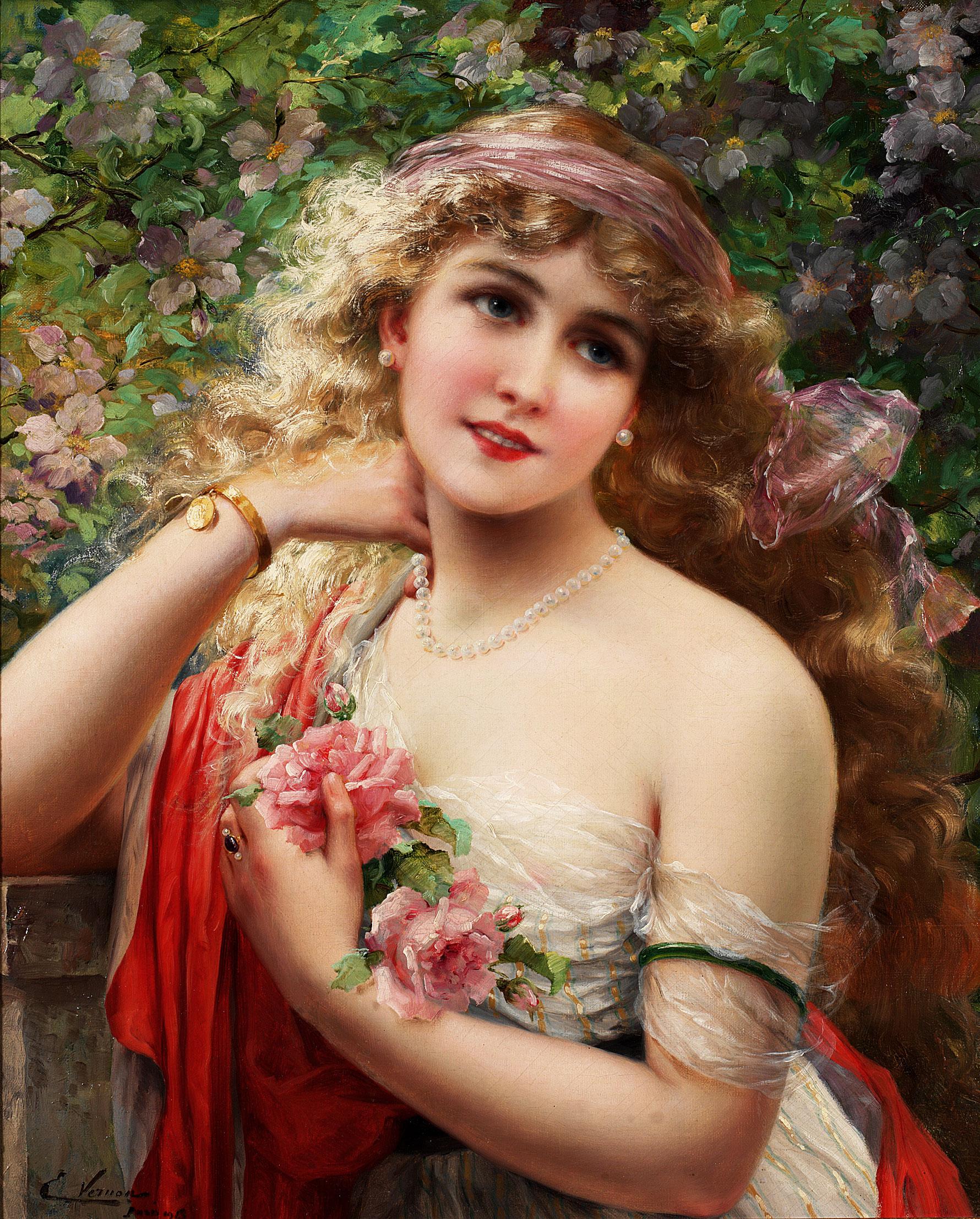 la belle aux roses
