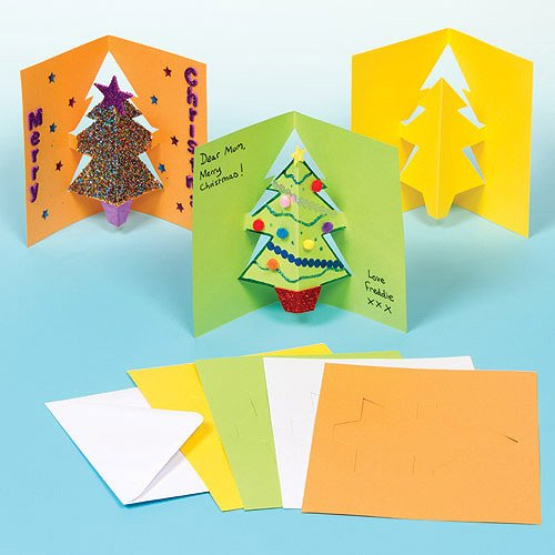 Cartes de no l en pop up l 39 cole de crevette - Carte de noel a fabriquer maternelle ...