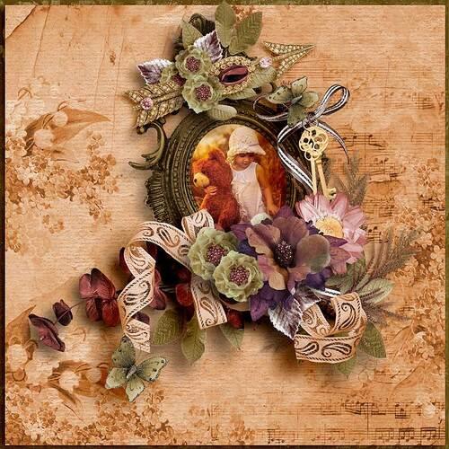 Jour d'automne by dentelle scrap art