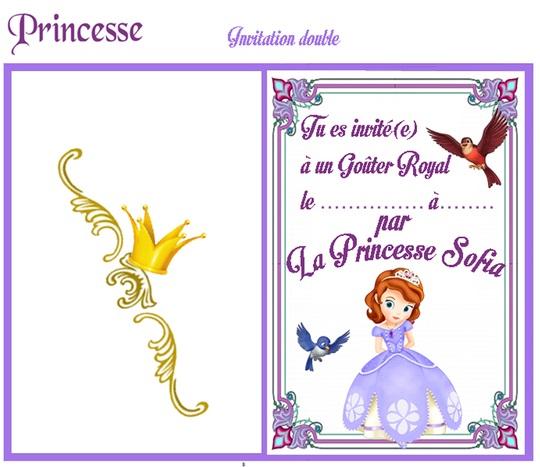 invitation anniversaire princesse sofia gratuite rabobankcentraaltwente. Black Bedroom Furniture Sets. Home Design Ideas