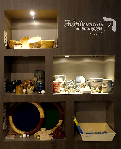 L'Office du Tourisme du Pays Châtillonnais propose des idées cadeaux pour les fêtes de fin d'année...