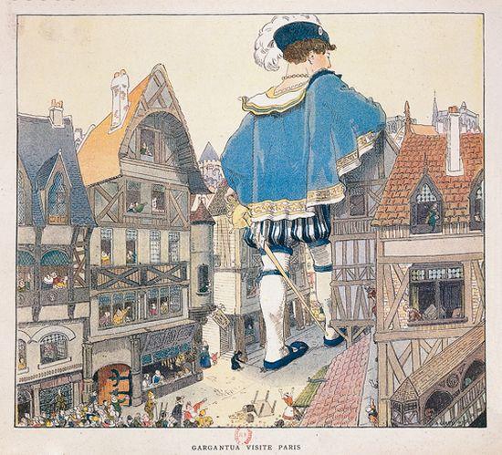 Biographie des Poètes:  François Rabelais (1493 - 1553)