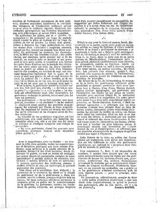 Frédéric Boutet - Des guérisons mystérieuses (Cyrano, satirique hebdomadaire, 18 mars 1928) 2