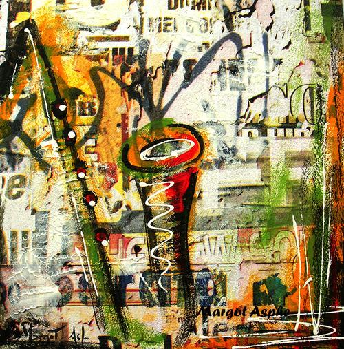SACEM martinique guyanne - Margot Asphe Peinture