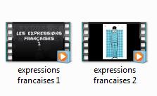 Diaporamas expressions françaises