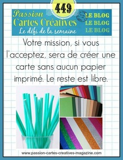 Passion Cartes Créatives#449