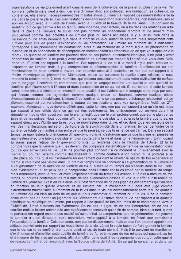 L'Un dans les multiples formes de vie - Page 24