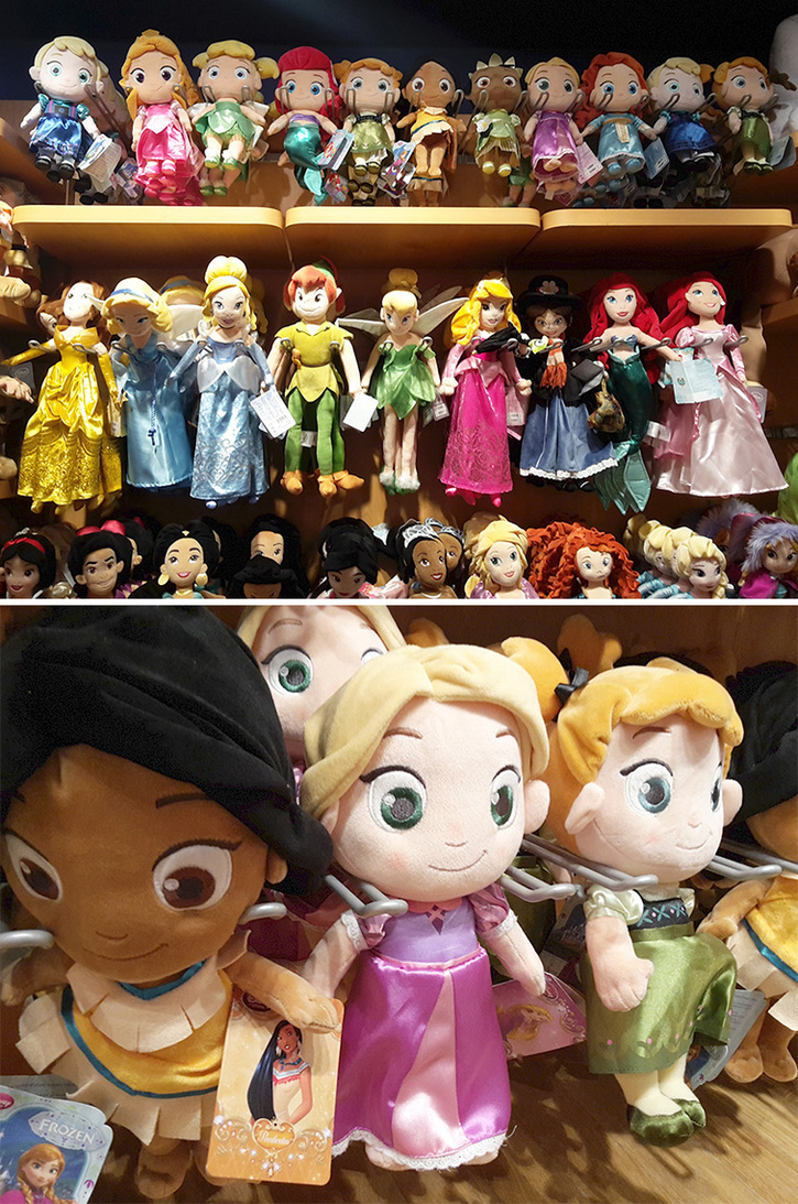 ♥ Visite du Disney Store des Galeries Lafayette - Haussmann ♥