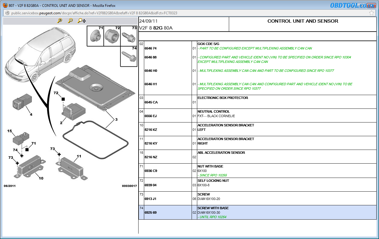 Read Peugeot wiring diagrams with Peugeot Service Box - wh1t3Zz