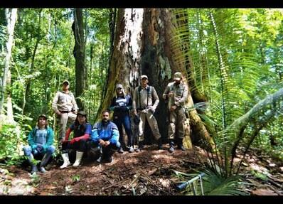 L'équipe de chercheurs. Photo AFP