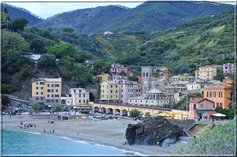 Italie, les 5 Terres : arrivée à Monterosso al Mare