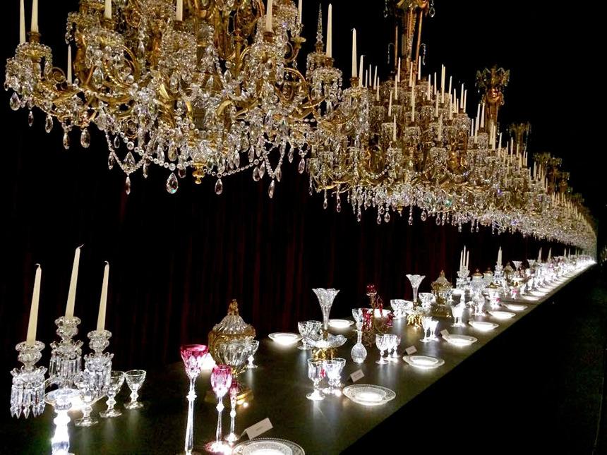 EXPOSITION: Baccarat, la légende du cristal
