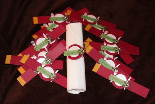 Déco : Des ronds de serviette pour Noël