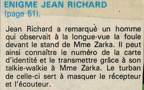 enquête de Jean Richard N°13