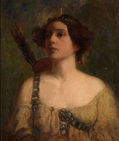 MacDougall's Auctions - Portrait of a Lady as Diana
