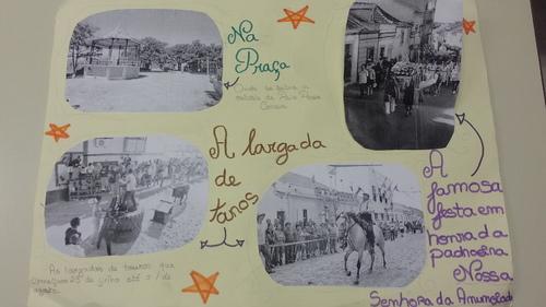 História e festas da aldeia