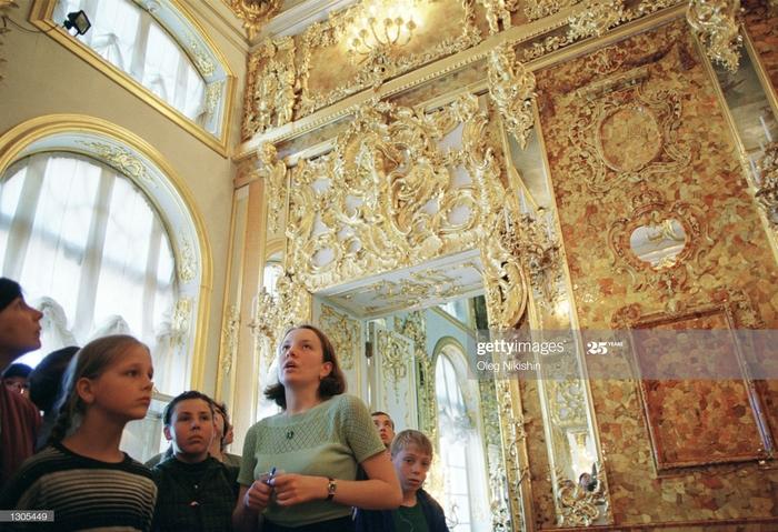 La mystérieuse disparition de l'opulente «salle d'ambre» en Russie