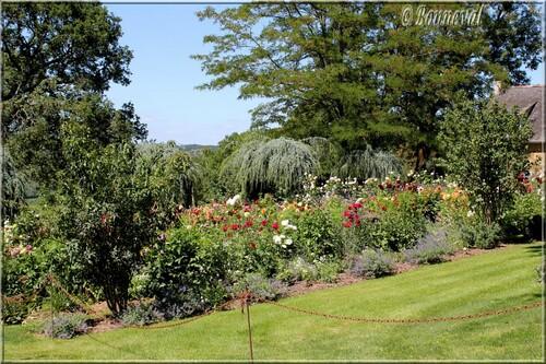 Les Jardins du Manoir d'Eyrignac le Jardin Fleuriste