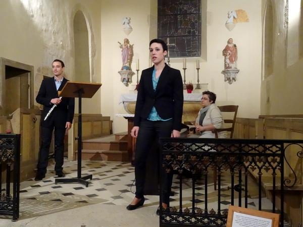 Un beau concert a eu lieu dans l'église de Marcenay le 1er novembre....