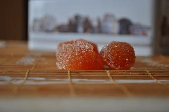 Pâte de fruits pomme-coing