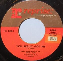Kinks : You Really Got Me (1964)