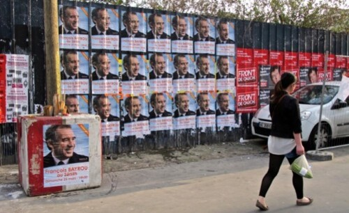 affiche élection présidentielle Bayrou Mélancho-copie-1