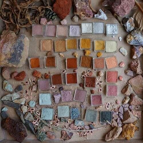 Bibliothèque mondiale des couleurs naturelles