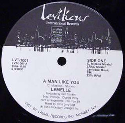 Lemelle - A Man Like You