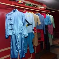 Les différents ccstumes de Tintin