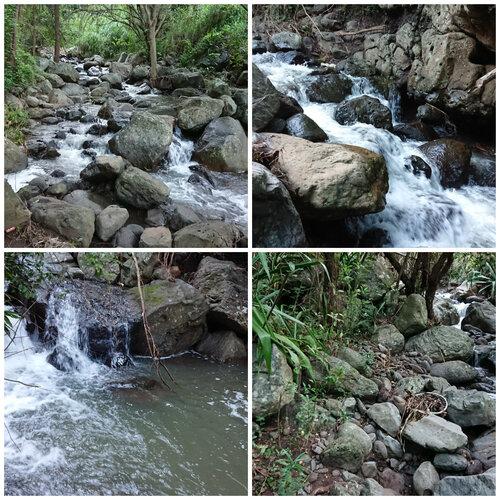 La grande cascade de la Ravine Deschenez