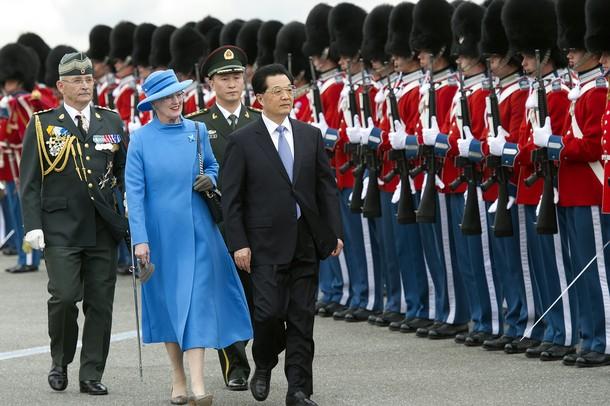Margrethe et le président