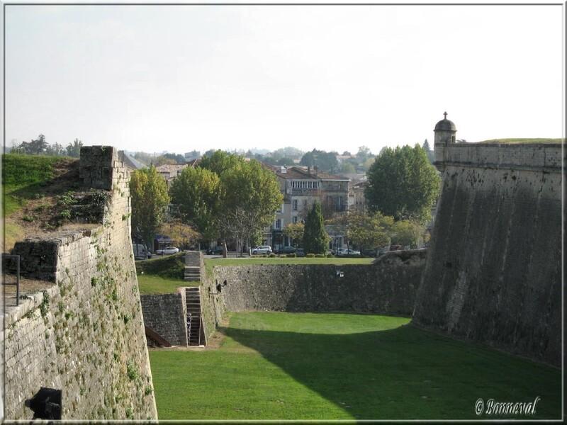 Citadelle de Blaye Gironde les fortifications le Bastion Saint Romain