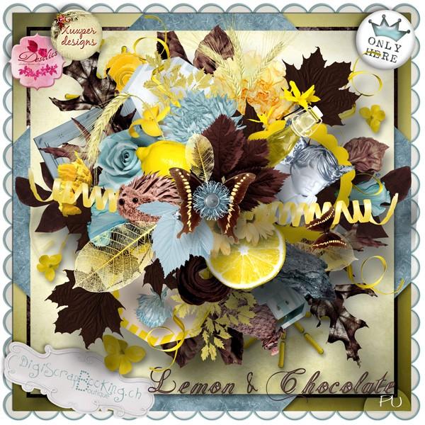 """Lemon and Chocolate"" de Desclics et Xuxper Designs"