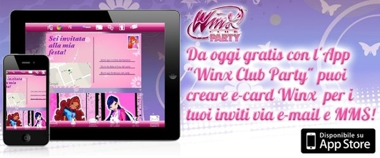 Winx Party cards