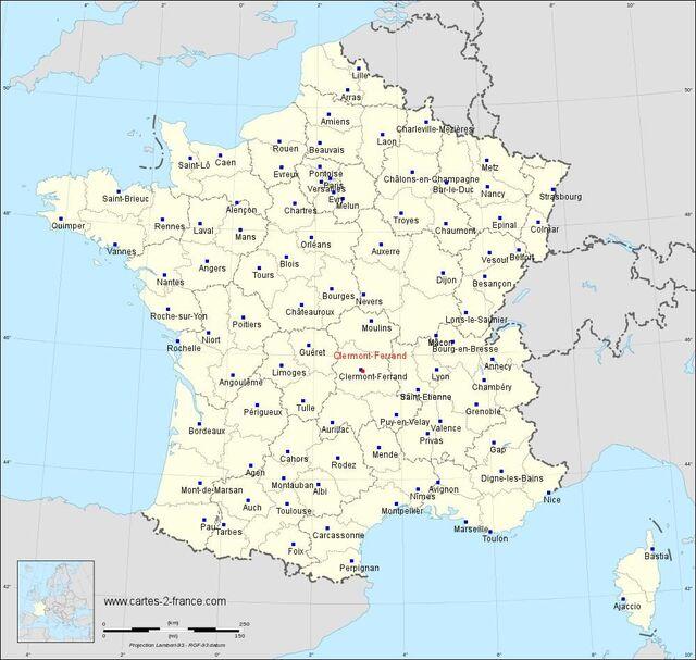 CLERMONT-FERRAND - Auvergne