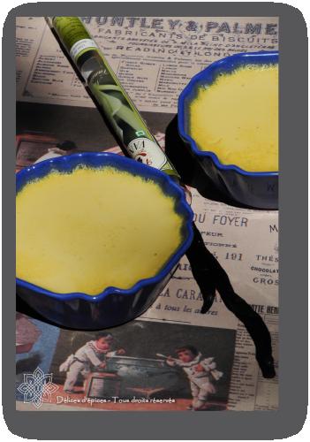 Petits pots de crème soja-vanille