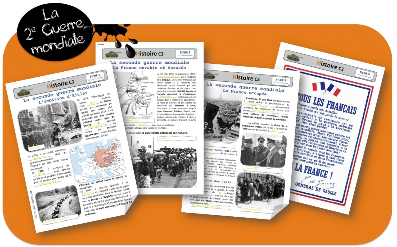 Sa globalite voici un dossier complet sur le seconde guerre mondiale