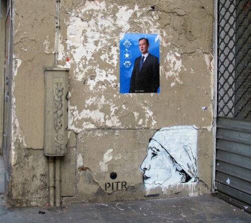 Street-art Pitr pochoir 4