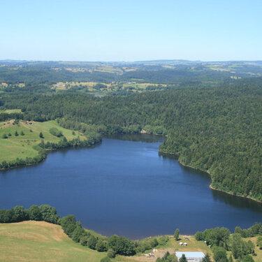 Lac de la Crégut-vue aérienne-3