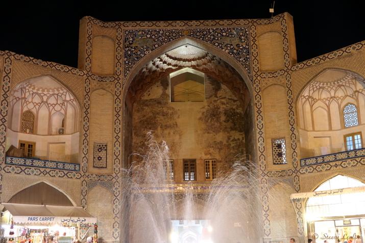 La porte du grand Bazar, Ispahan