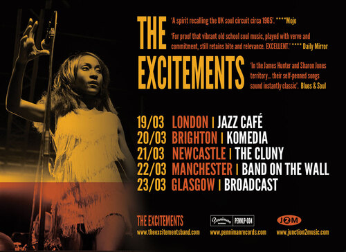 "The Excitements : CD "" Sometimes Too Much Ain´t Enough "" Penniman Records  PENNLP-004 [ ES ]"