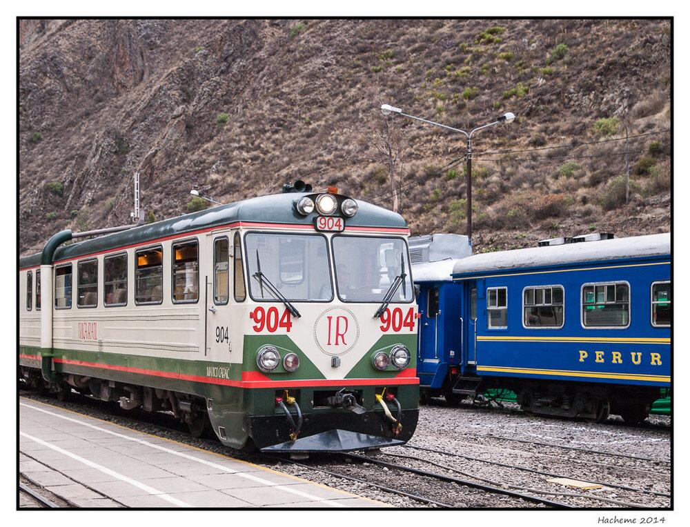 Ollantaytambo : la gare
